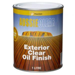 Preschem Aussie Clear Decking Oil 1L