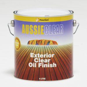 Preschem Aussie Clear Decking Oil 4L