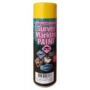 Professional Survey Marking Paint Yellow