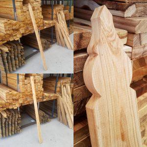Cypress Pickets