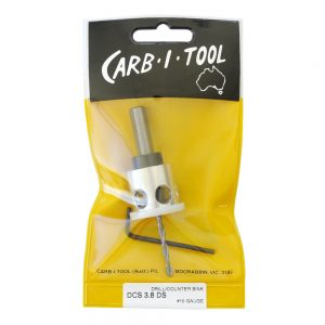 Carb-i-tool Countersinking Drill 3.8mm #10 Gauge