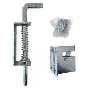Gate Latch Spring Loaded