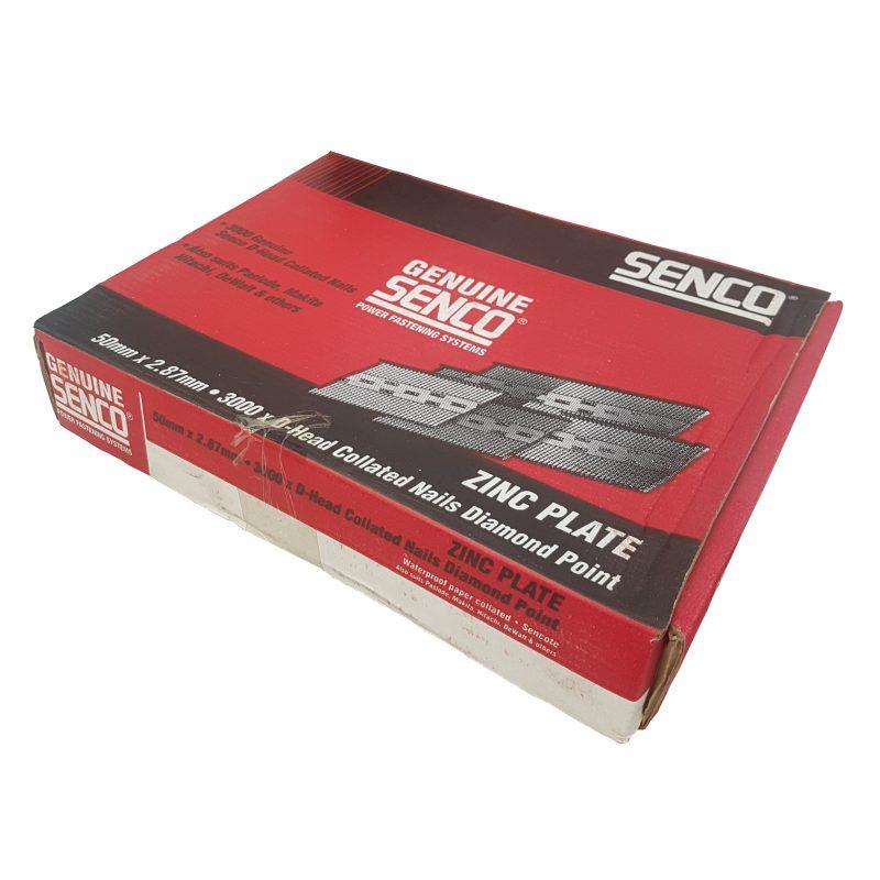 Nail Strip Senco 34° E.Galv 50mm 3000