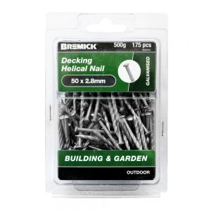 Decking Helical Nail 50 x 2.8mm 500g/175 Pack