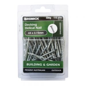 Decking Helical Nail 65 x 3.15mm 500g/115 Pack