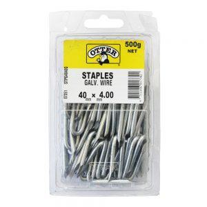 Staples 40 x 4.0mm 500g Pack