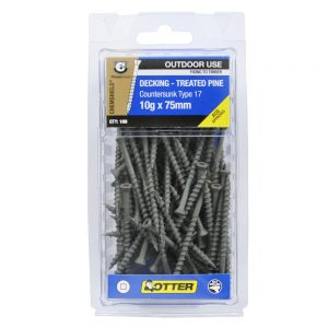 Chemshield TP Deck Screw 10g x 75mm 100 Pack