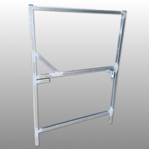 Single Steel Gate Frame 900 x 1000
