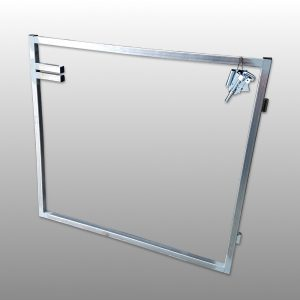 Single Steel Gate Frame 1200 x 1000