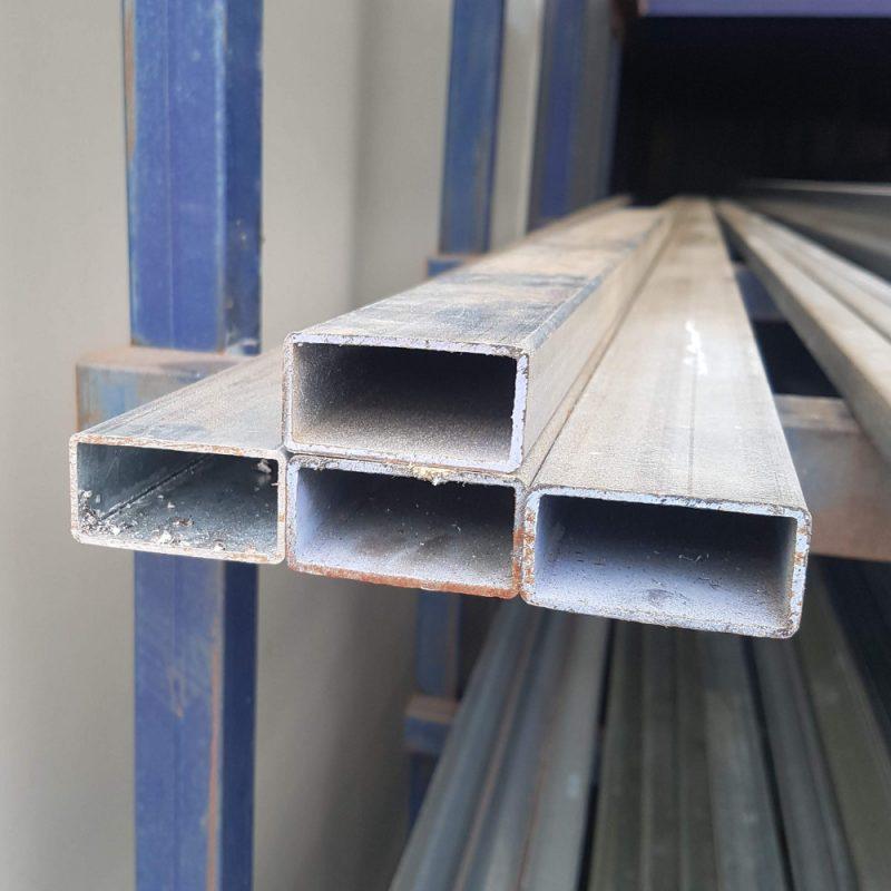 Steel 50x25x1.6 Galv RHS