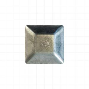 Steel 50 x 50 Galv Cap
