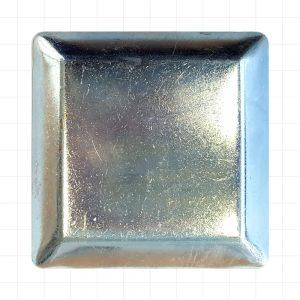 Steel 90 x 90 Galv Cap