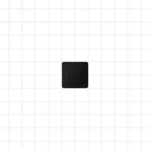 Black Plastic Plug 20