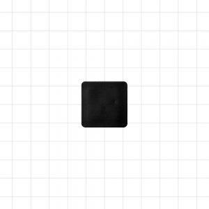 Black Plastic Plug 25