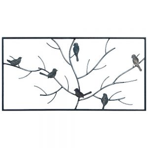 Steel Screens Flock Wall Art 1000 x 500 x 10mm