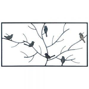 Steel Screens Flock Wall Art 1000 x 500 x 10