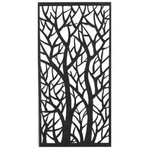 Decorative Steel Panel Forest 1200 x 600