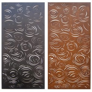 Decorative Art Panel Rain 1800 x 900