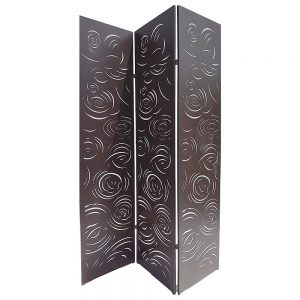 Folding 3 Part Decorative Screens 1800 x 440 Rain