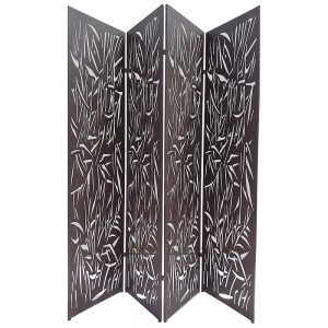 Folding 4 Part Decorative Screens 2000 x 440 Jungle