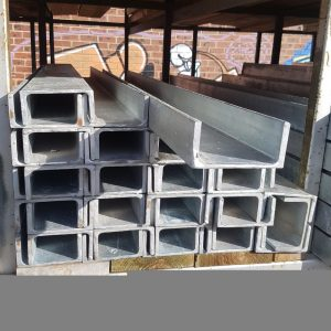 Steel 100 x 50 Galv C Sleeper Column