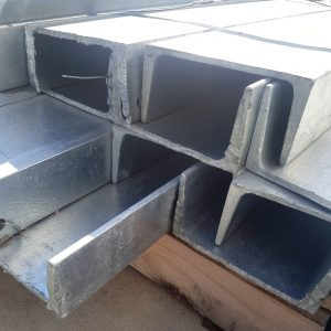 Steel 150 x 75 Galv C Sleeper Column