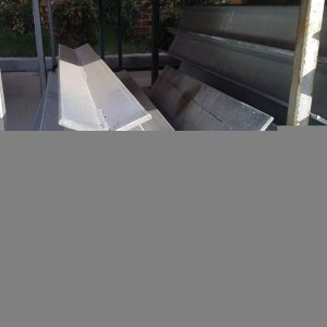 Steel Galv Double C Corner Sleeper Column 45
