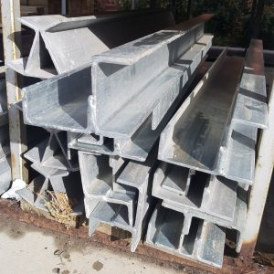 Steel Galv Double C Corner Sleeper Column 90