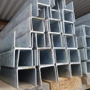 Steel Econo Galv H Sleeper Column for 50mm Timber