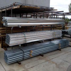 W Profile Galvanised Steel Post 3.6m