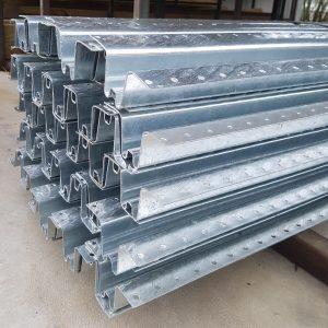 W Profile Galvanised Steel Post 2.1m