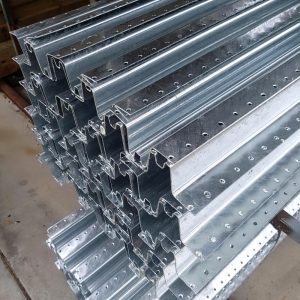 W Profile Galvanised Steel Post 3.0m