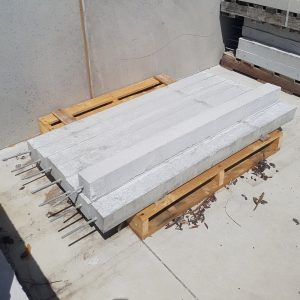 Concrete Stump 100 x 100 x 1.5 Threaded Rod