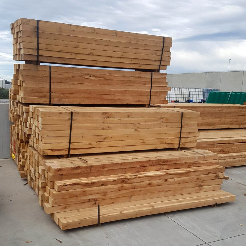 Cypress Sawn 125 x 75 x 2.4