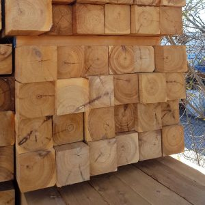 Cypress Sawn 125 x 125 x 1.5