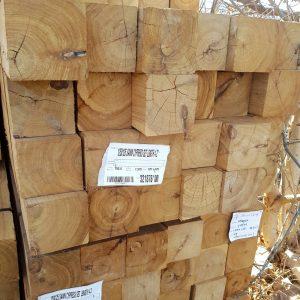 Cypress Sawn 125 x 125 x 4.2