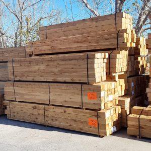 Cypress Sawn 125 x 125 x 6.0