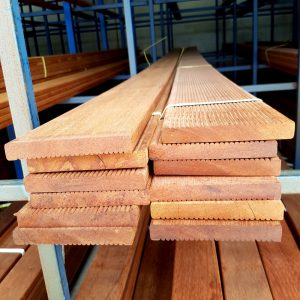 Merbau Decking 140 x 19 Set Length 4.5m - 5.7m