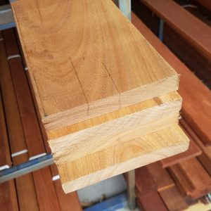 Spotted Gum Decking 135 x 19 Feature Grade