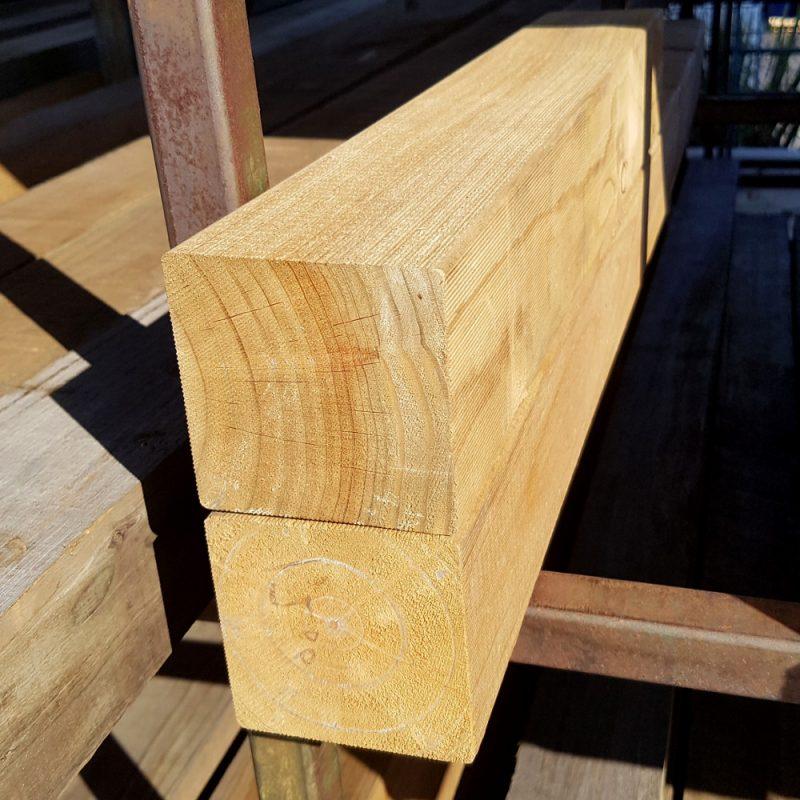 Treated Pine H4 Sawn 100 x 100 x 1.2 Stump