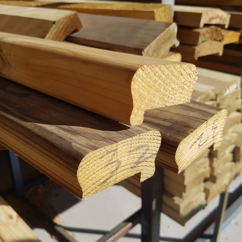Treated Pine Colonial Capping 90 x 45
