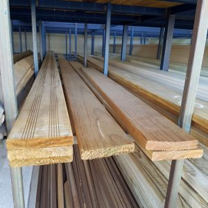 LOSP Treated Pine 140 x 25 Clear Decking