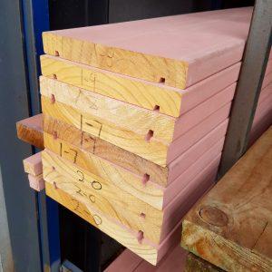 Treated Pine Fascia Primed KD 230 x 31