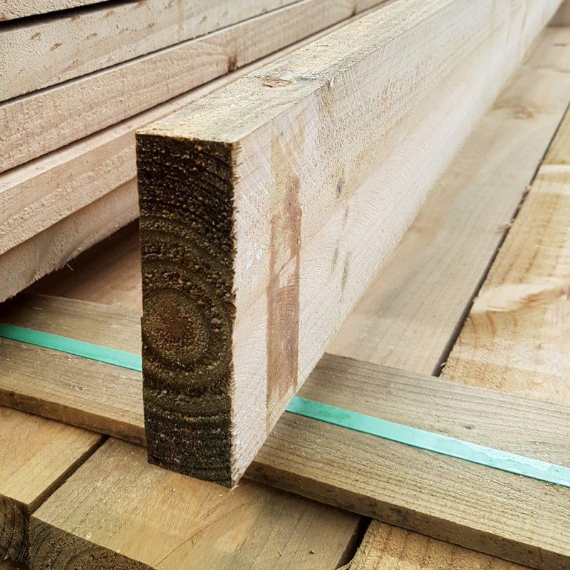 Treated Pine H3 Sawn 100 x 50