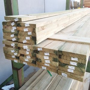 Treated Pine H3 Sawn 150 x 25