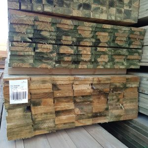 Treated Pine H3 Sawn 125 x 25