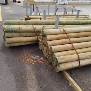 Treated Pine H4 Rnd 100-125 x 3.6