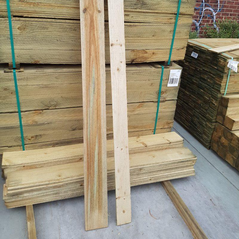 Treated Pine H3 Paling 100 x 12 x 0.9