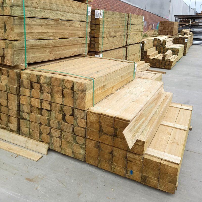 Treated Pine H3 Paling 150 x 12 x 1.8