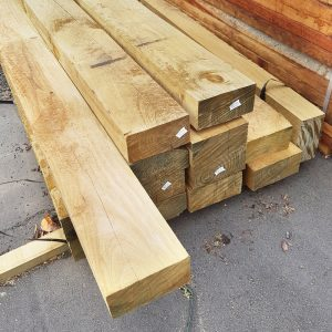 Treated Pine H4 Sleeper 200 x 100 Arsenic Free